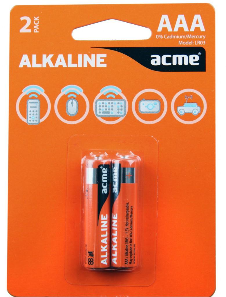 Baterije ACME alkalne AAA