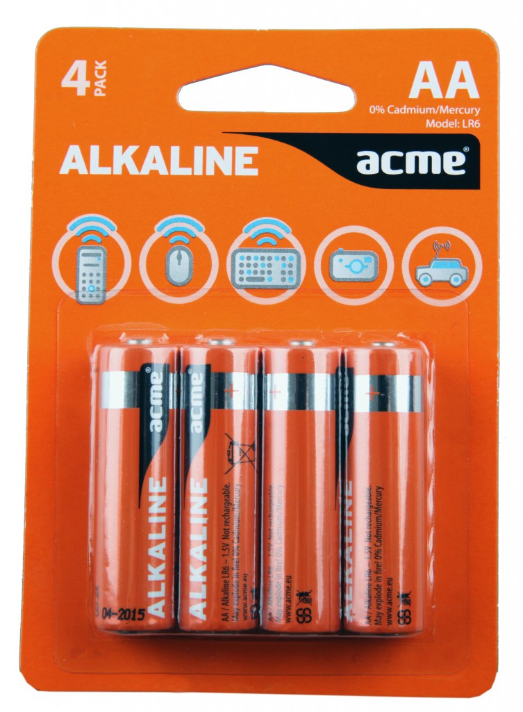 Baterije ACME alkalne AA