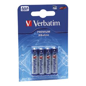 Baterija Verbatim, alkalna AAA