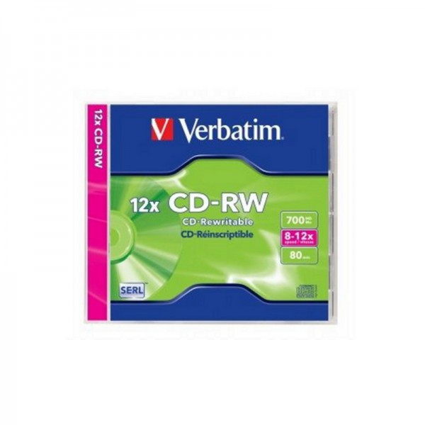 C-RW VERBATIM 700 MB, 1/1