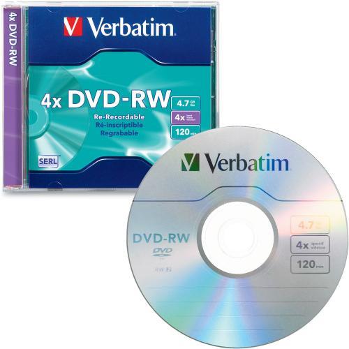 DVD-RW VERBATIM 700 MB, 1/1