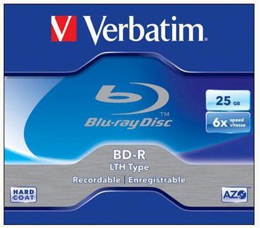 VERBATIM Blu-ray disk BD-R 25GB 1/1