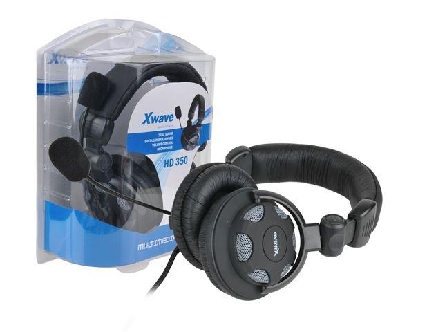 SLUŠALICE SA MIKROFONOM XWAVE HD350