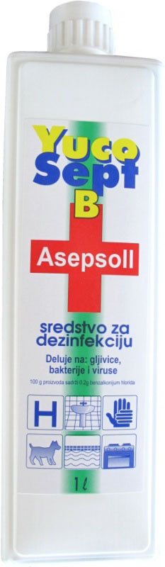 Asepsol 0,2%m, 1l