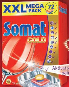 Somat gold tablete za sudomasinu, 72 kom