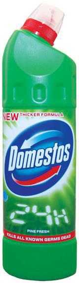 Domestos, gel za osvezavanje WC solje, pine fresh