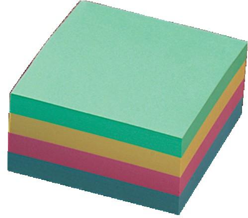 "Post it INFO NOTES 75x75, ""Kocka"", pastelne boje, 400 listova"