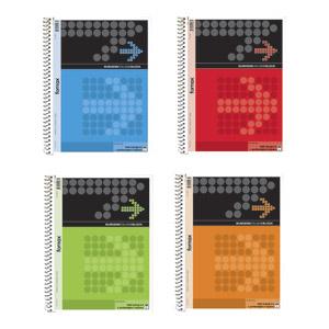 Kolegijum blok FORNAX,  A 4, SPIRALA,linije,4 rupe, 40 listova