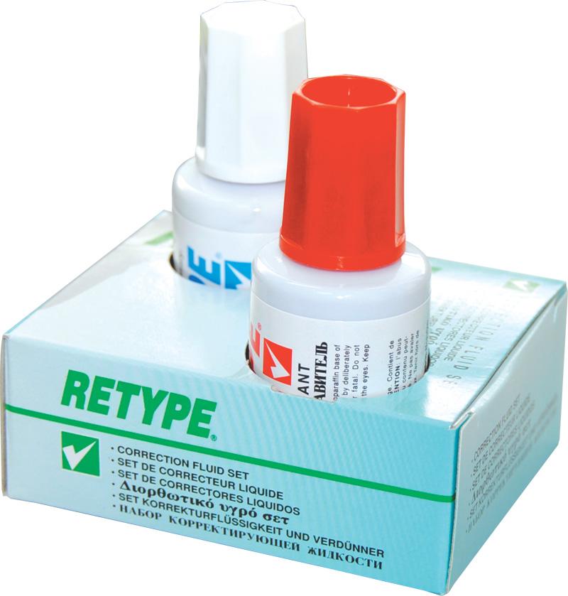 Korektor+razređivač RETYPE solvent