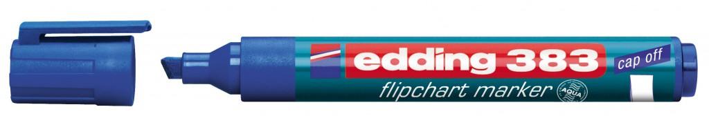 Marker za flipchart tablu EDDING, mod. 383 , 1/1, 4 boje, zaobljeni vrh