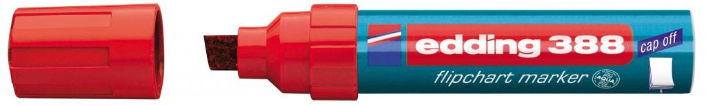 Marker za flipchart tablu EDDING, mod. 388, JUMBO, 1/1, 4 boje, KOSI VRH