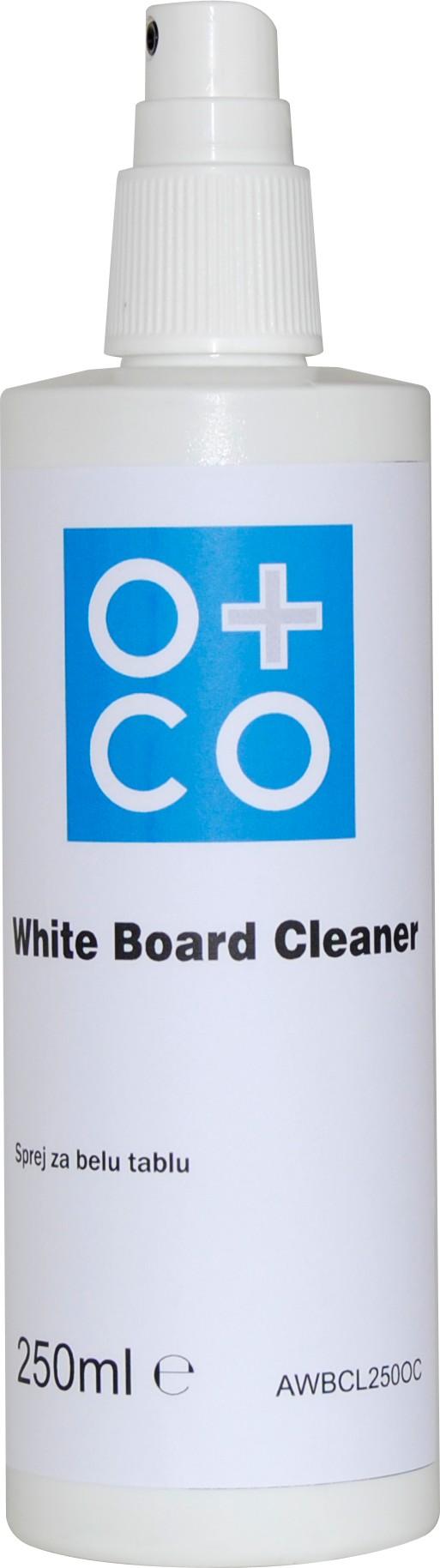 Sprej za čišćenje belih tabli O+CO