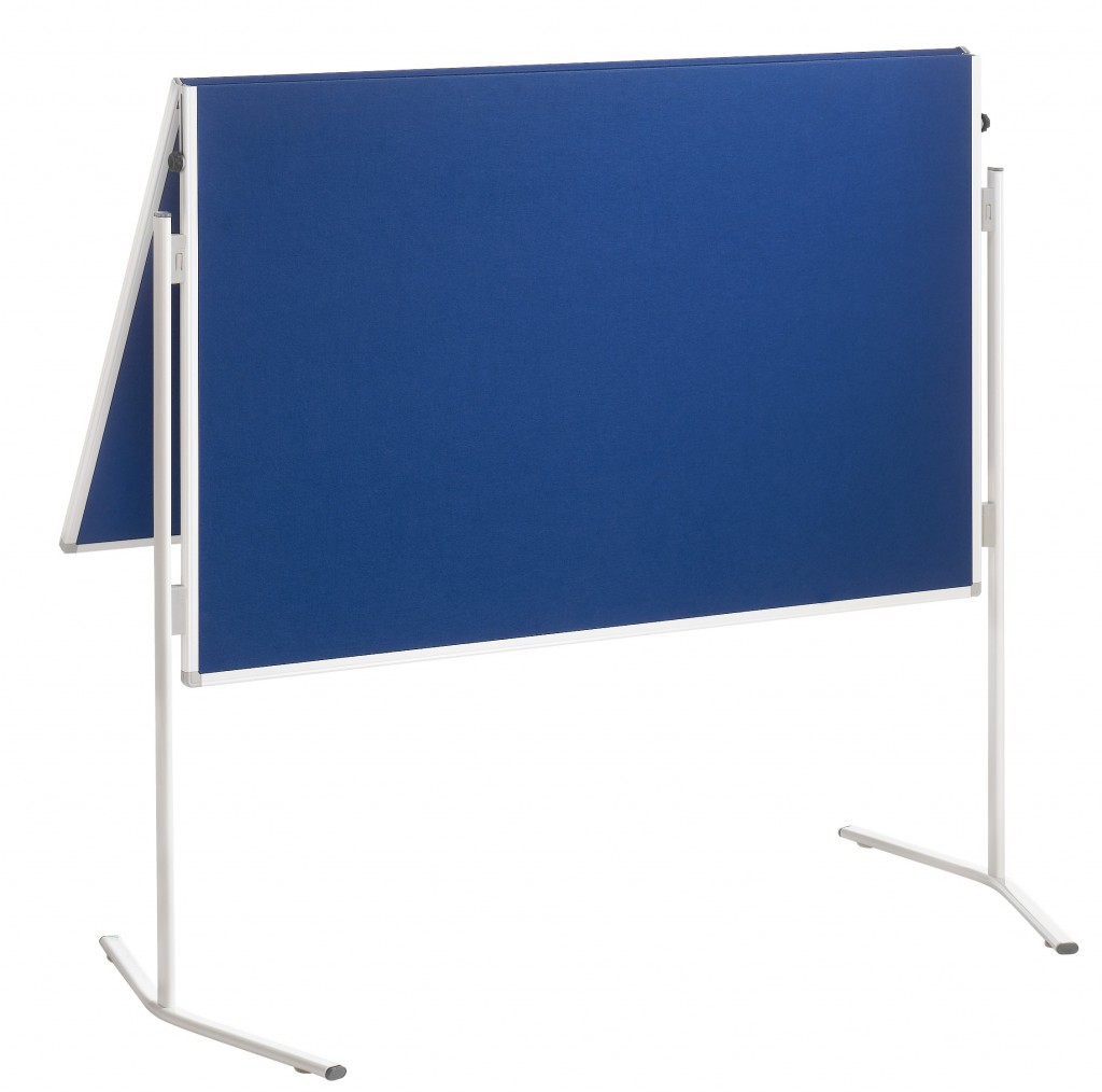 Tabla za moderaciju FRANKEN,obostrana 150x120cm, plava
