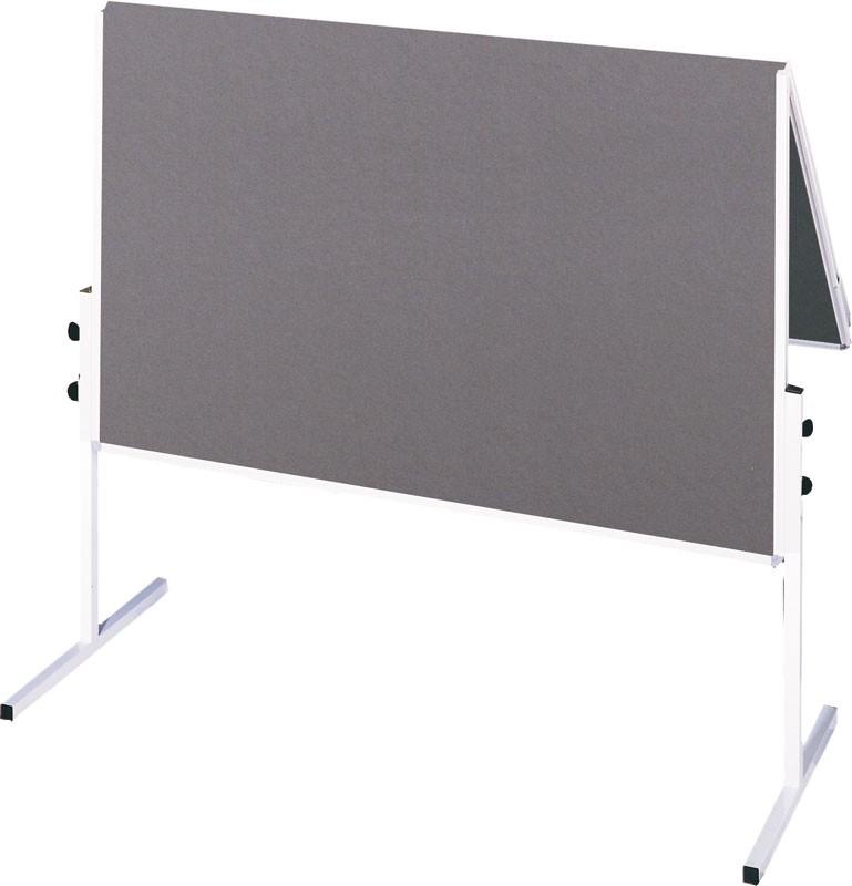 Tabla za moderaciju FRANKEN, obostrana 150x120cm, siva