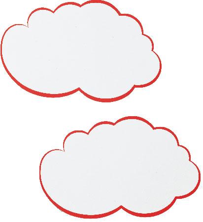 Kartoni za moderaciju FRANKEN oblacici 25x42cm