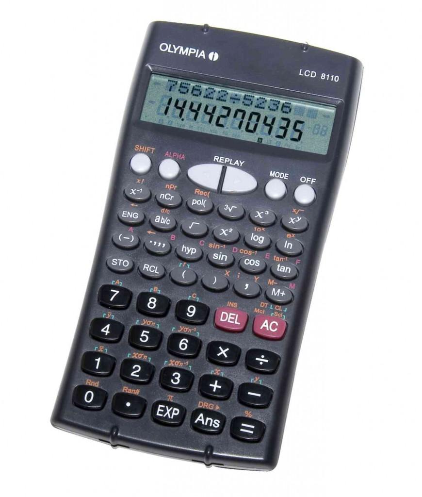 Kalkulator OLYMPIA LCD-8110