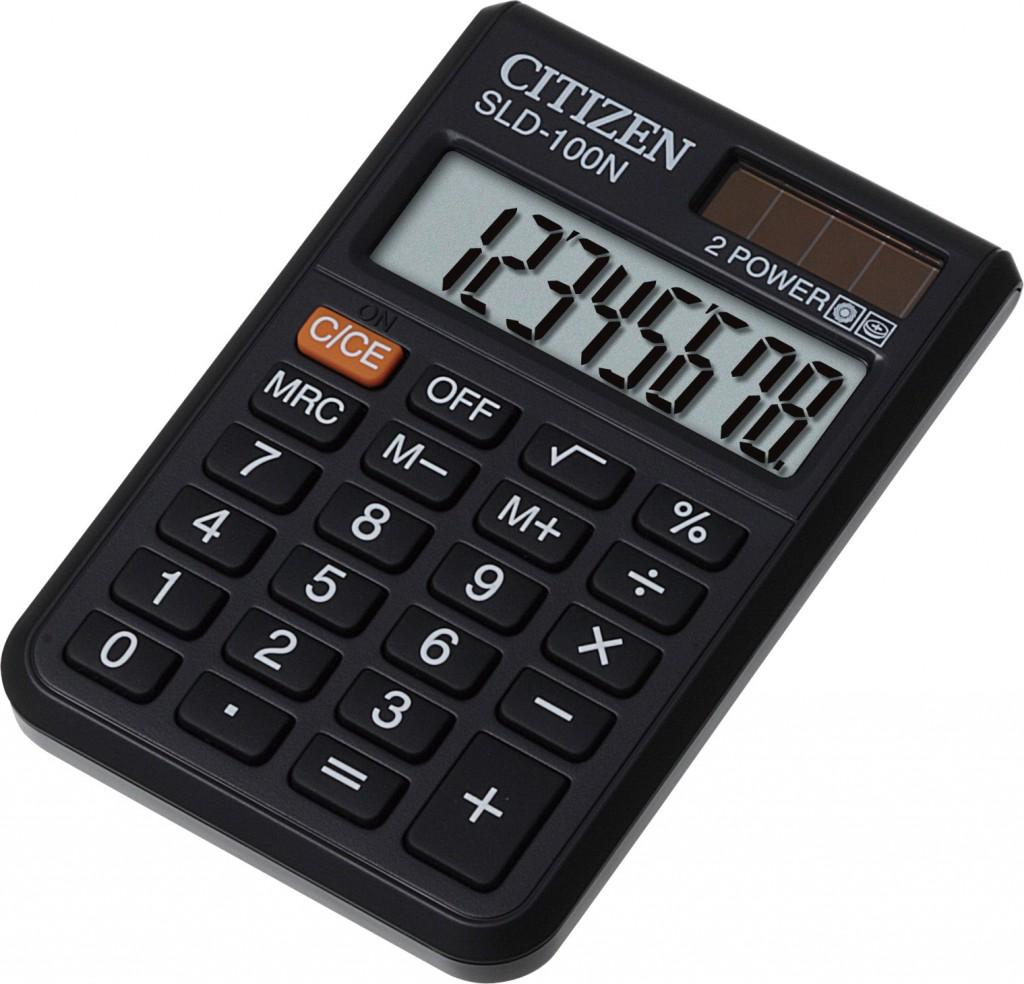 Kalkulator džepni CITIZEN SLD 100