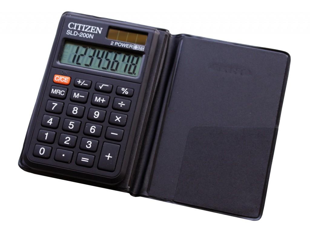 Kalkulator džepni CITIZEN SLD 200