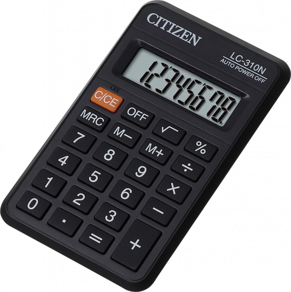 Kalkulator džepni CITIZEN LC 310N