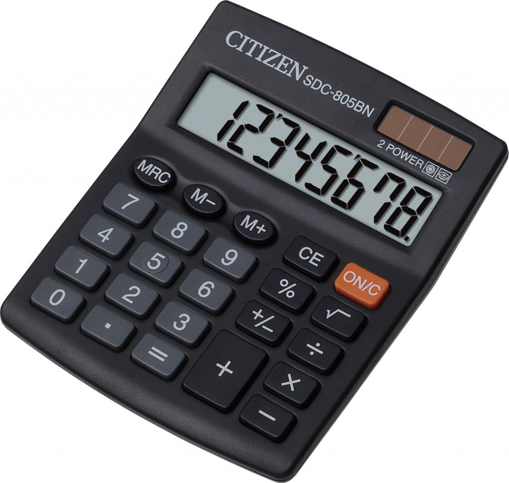 Kalkulator stoni CITIZEN SDC 805