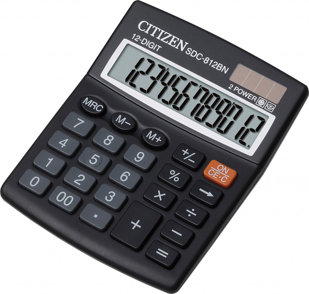 Kalkulator stoni CITIZEN SDC 812
