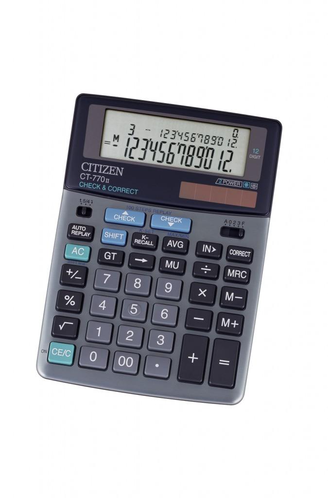 Kalkulator stoni poslovni CITIZEN CT 770