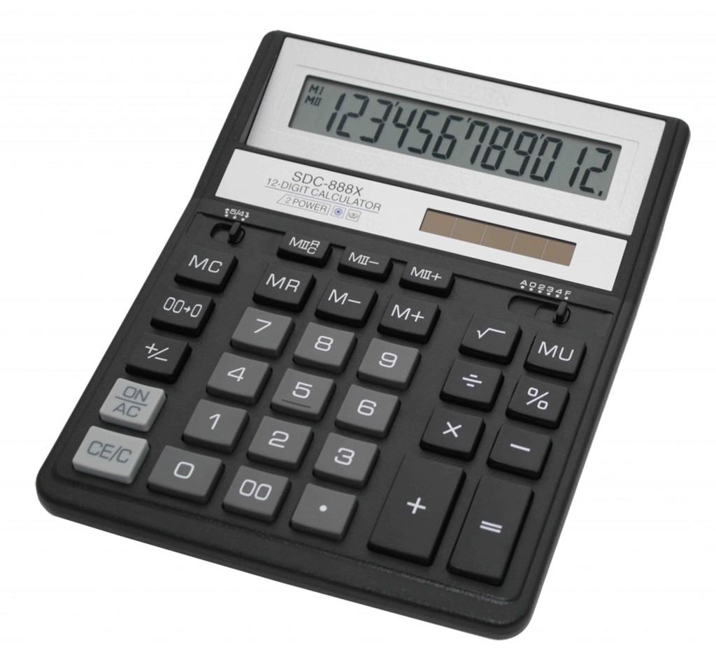 Kalkulator stoni CITIZEN SDC 888 T