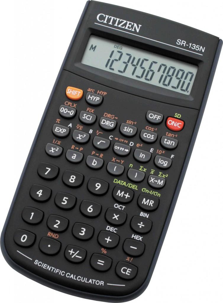 Kalkulator matematicki CITIZEN SR 135N kolor