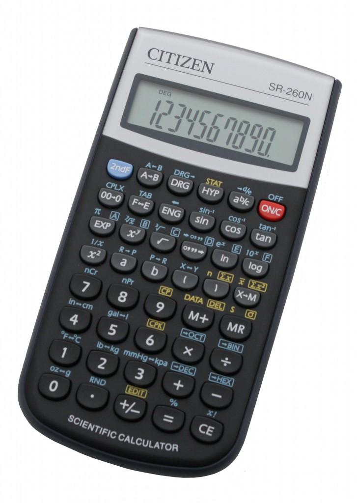Kalkulator matematicki CITIZEN SR 260 N