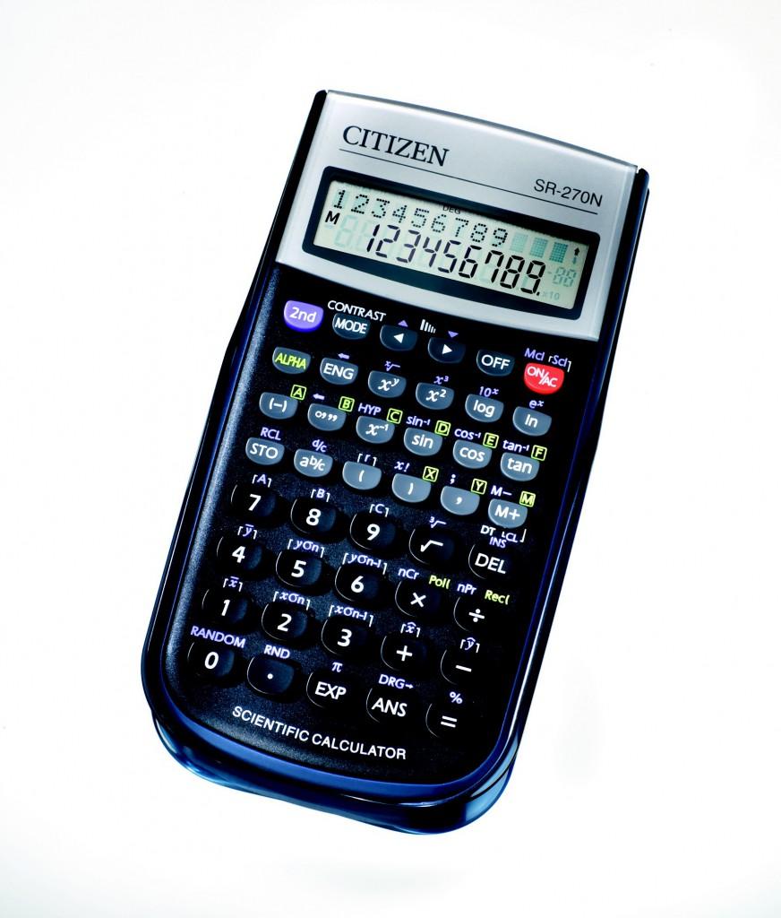 Kalkulator matematicki CITIZEN SR 270N