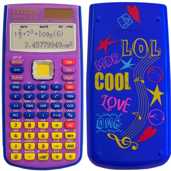 Kalkulator matematicki CITIZEN SR 270X