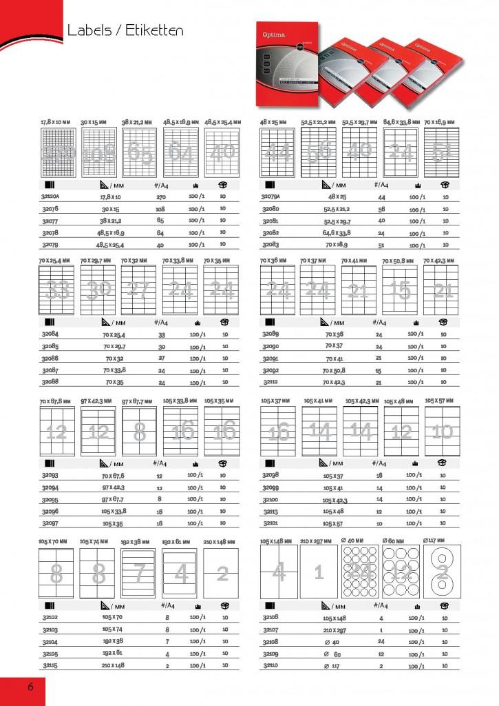 ETIKETA A4 ,  21-1, 70x42,30 mm